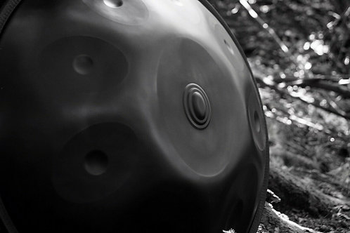 Handpan by Ohm - D Minor Kurd 10 + C# Arolean 9