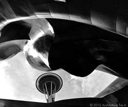 Space Needle - EMP Museum