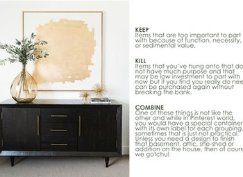 this & that: de-cluttering your home
