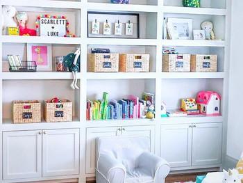 playroom storage - saving mom's sanity