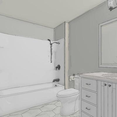 BURGESS  HOUSE BATHROOM