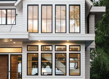 adding curb appeal | black window edition