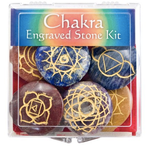 Engraved Chakra Stone Kit