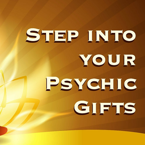 Psychic Gifts - Single Day Workshop
