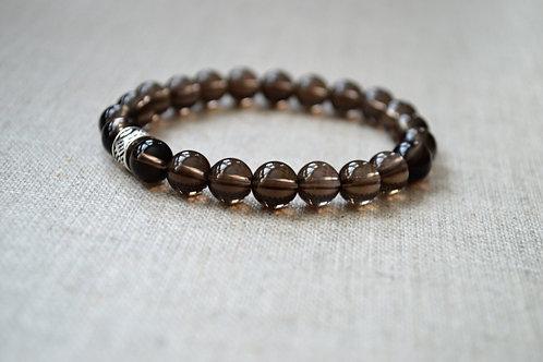 Smokey Quartz GrowGlowCo Healing Bracelet