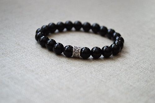 Onyx GrowGlowCo Healing Bracelet