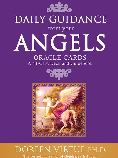 Daily Guidance from your Angels Oracle Card Set