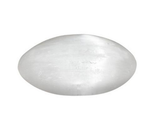 Selenite Palm Stone