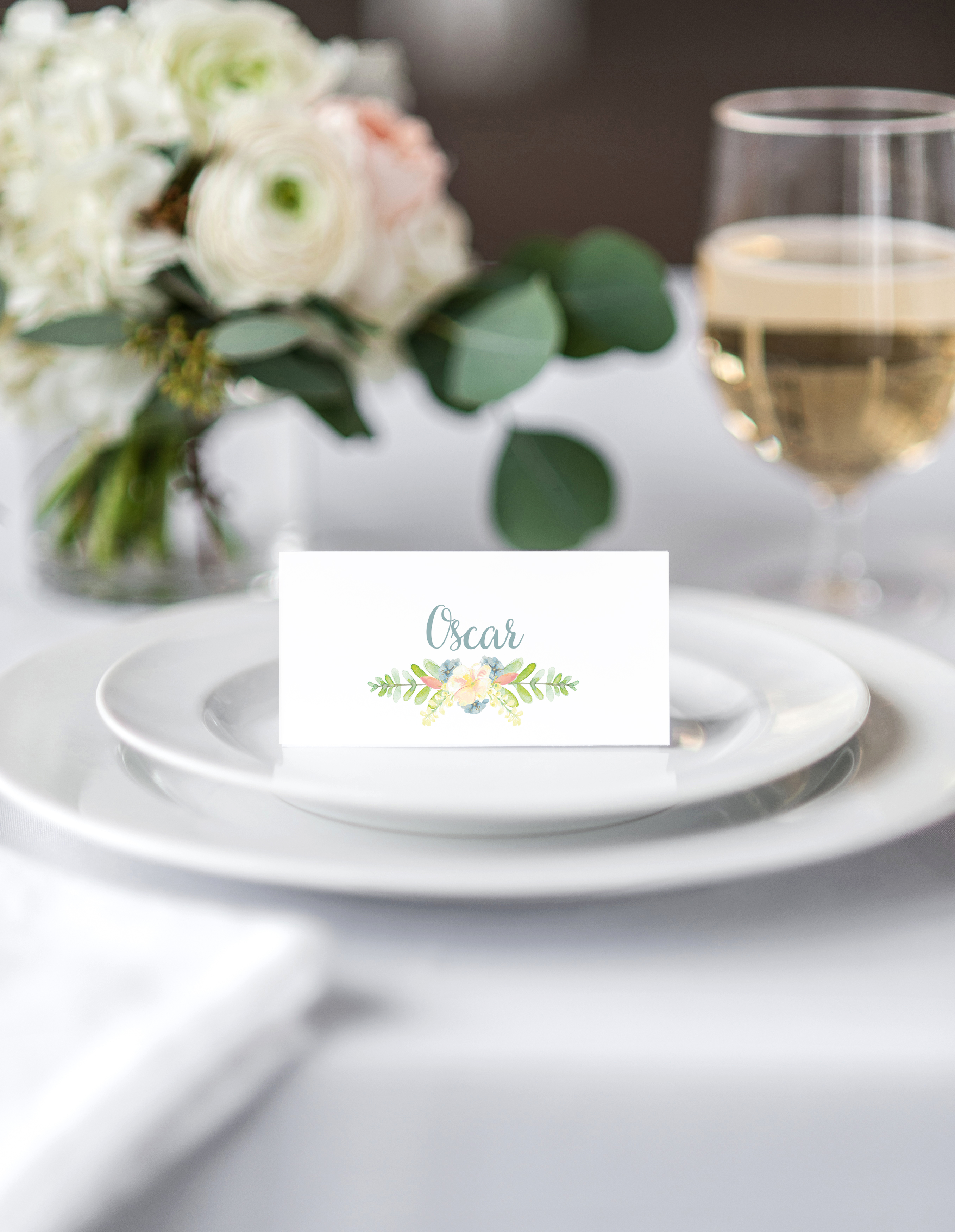 A.Fimister Place Cards