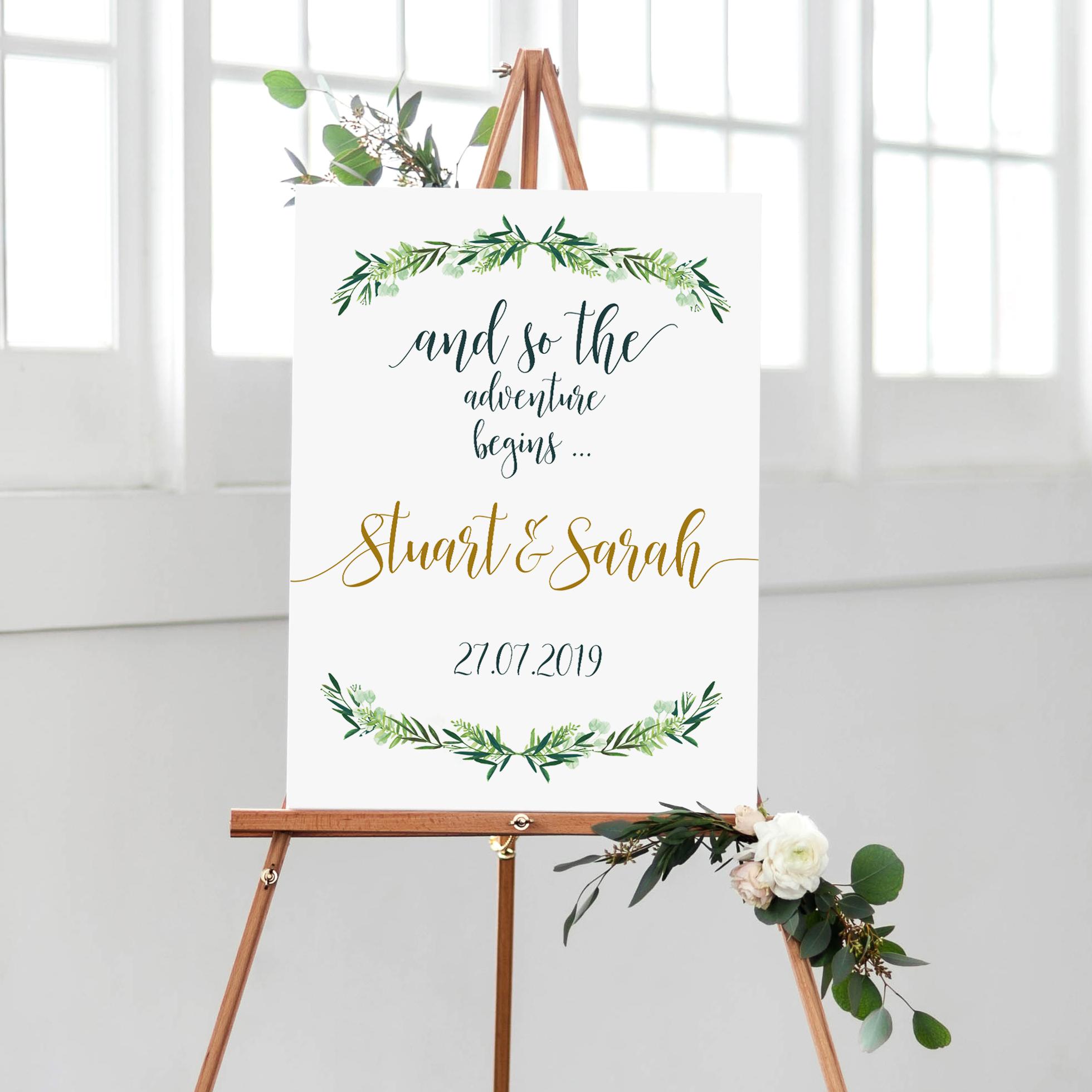 S.Scholes - Welcome Sign