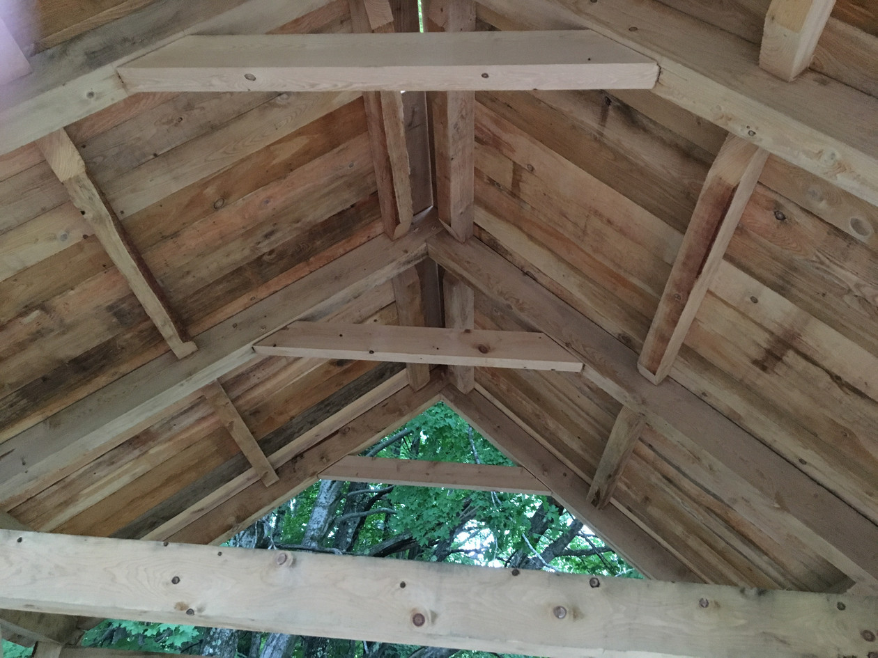 Rafters, Purlin and Collar Tie Joinery