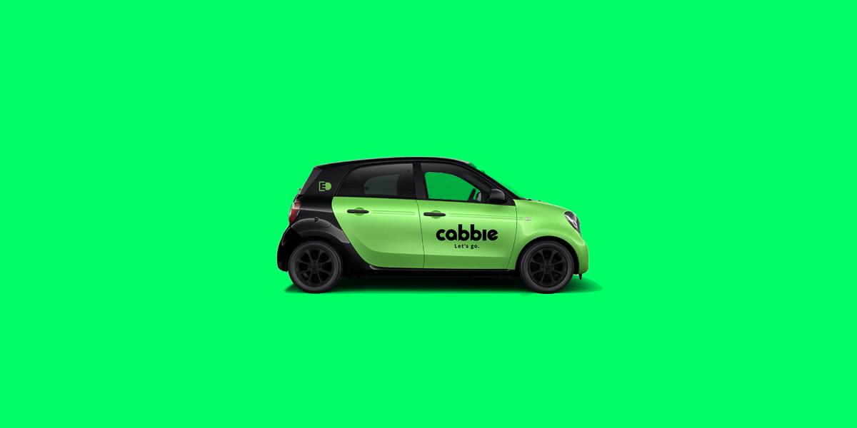 Cabbie - Let's go.