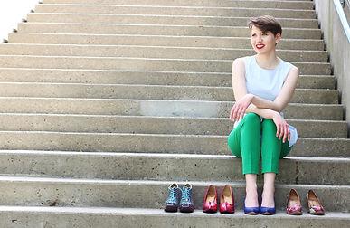 Sydney Baedke soprano John Fluevog shoes