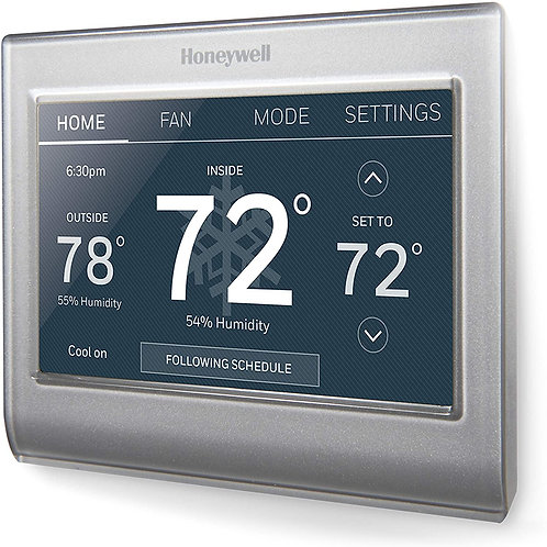 Honeywell RTH9585WF1004/W WIFI COLOR TOUCHSCREEN THERMOSTAT 2.0
