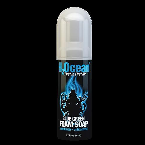 H2Ocean 1.7oz Blue Green Foam Soap
