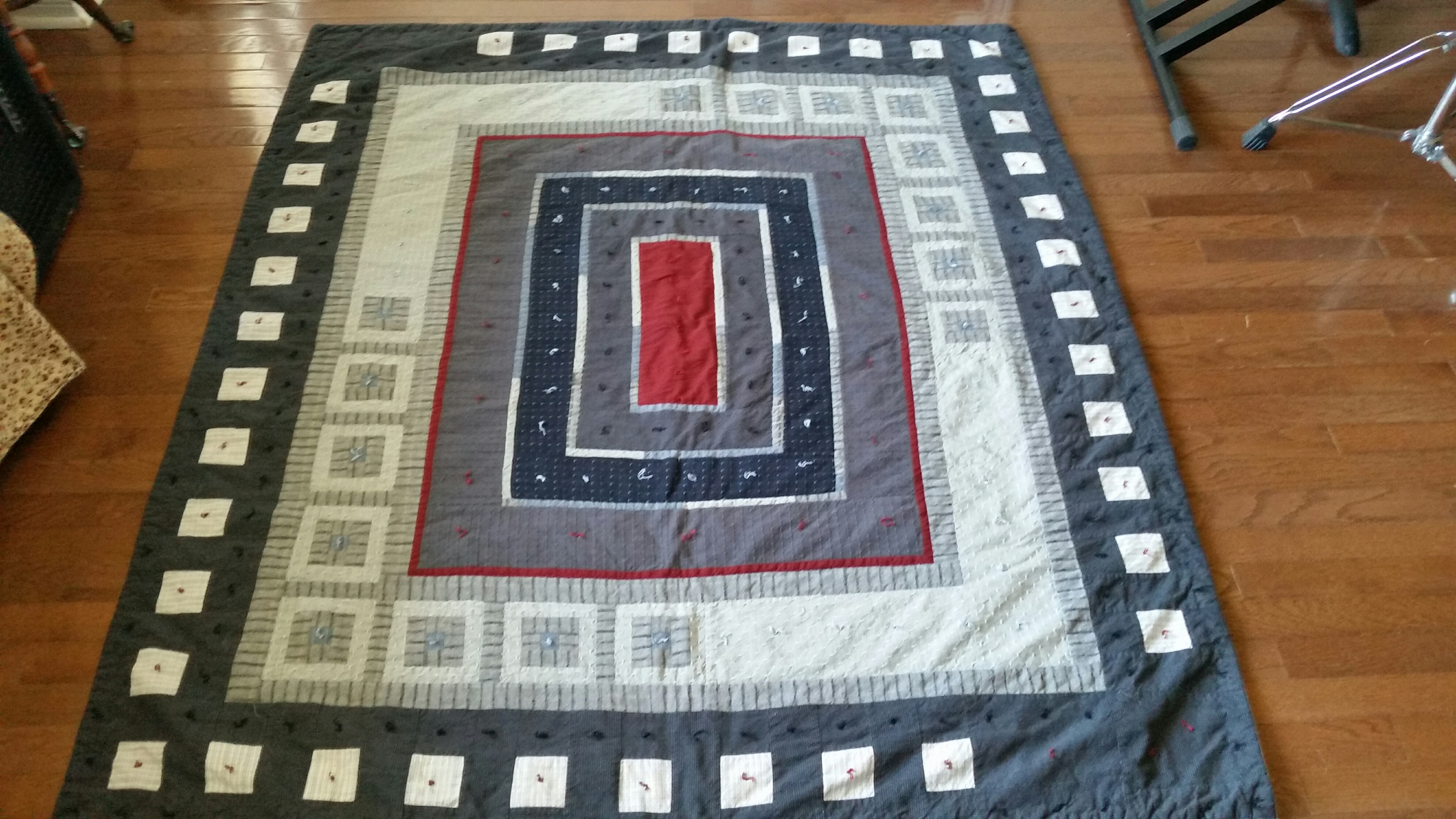 Couch Quilt #3