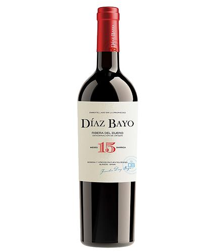 Díaz Bayo 15 Crianza 2014