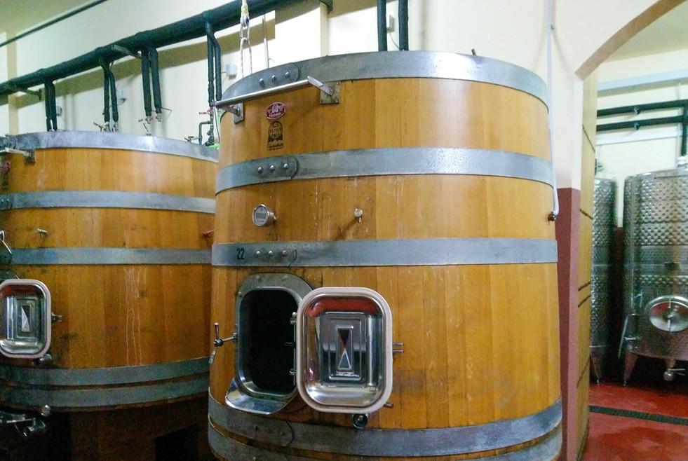 Barrels at Can Vidalet