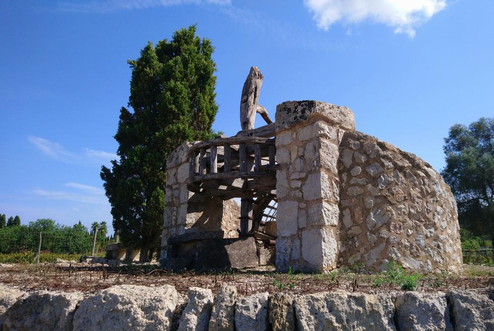 Ancient well at Can Vidalet