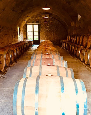 oak barrels at son puig bodega.jpg