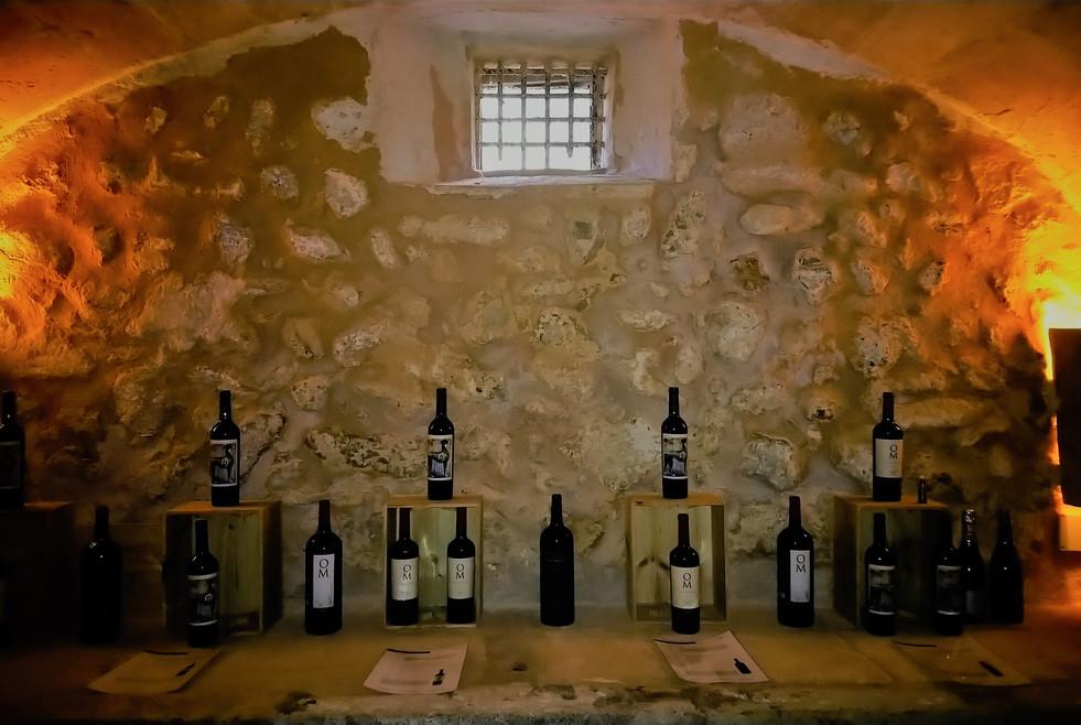Oliver Moragues wine celler