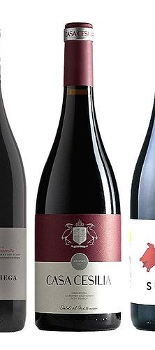Pack de Tres Vinos Tintos