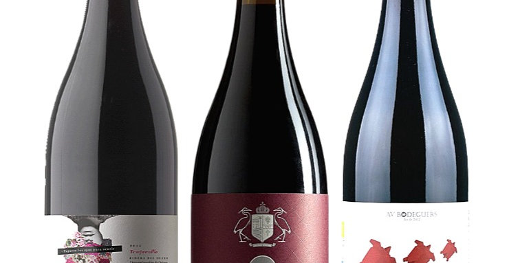 Pack of Three Red Wines