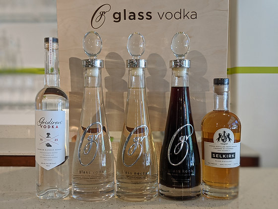 Glass Vodka Tasting Kits (WA)
