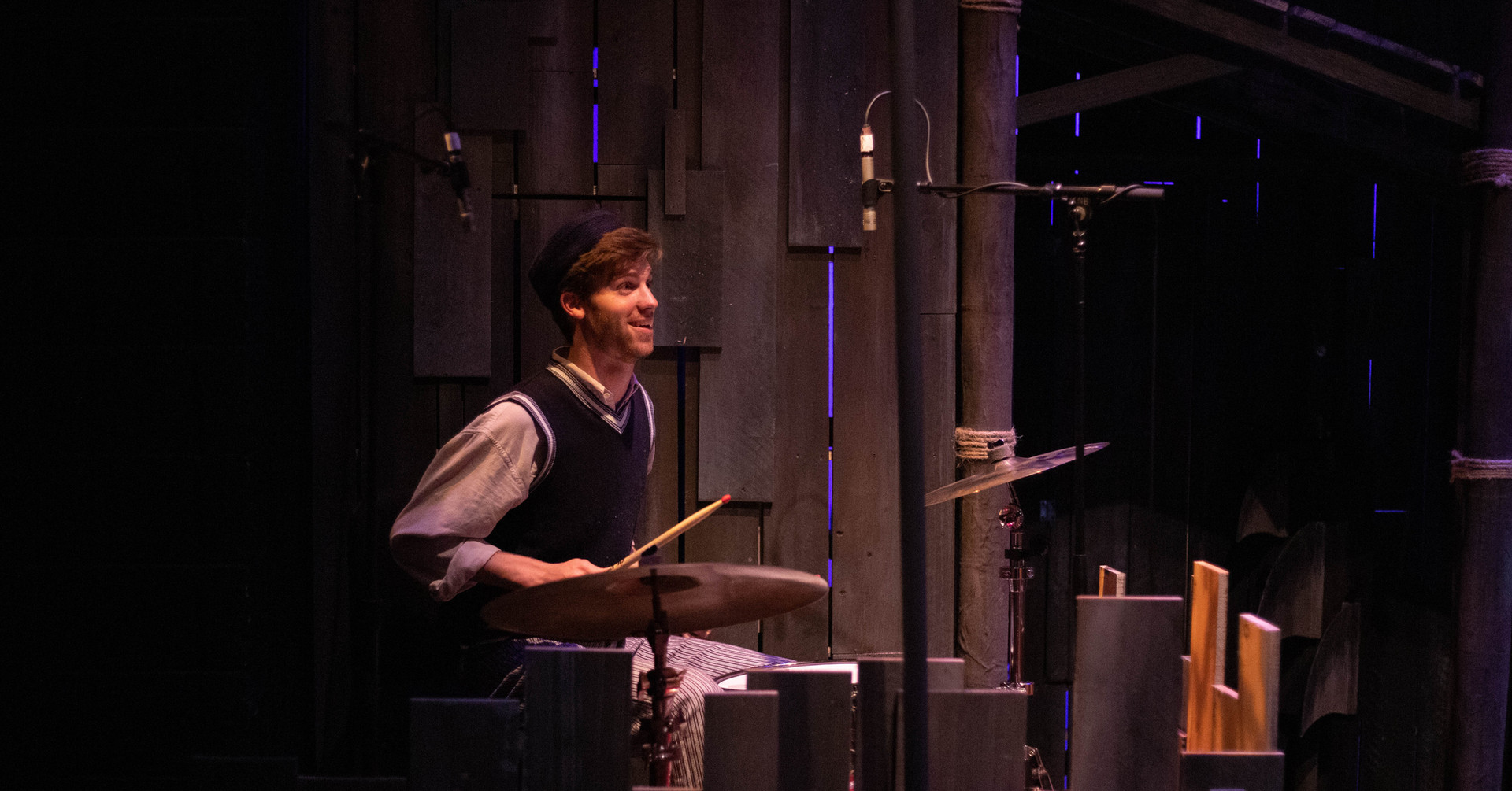 Percussionist - THE OLD MAN AND THE OLD MOON