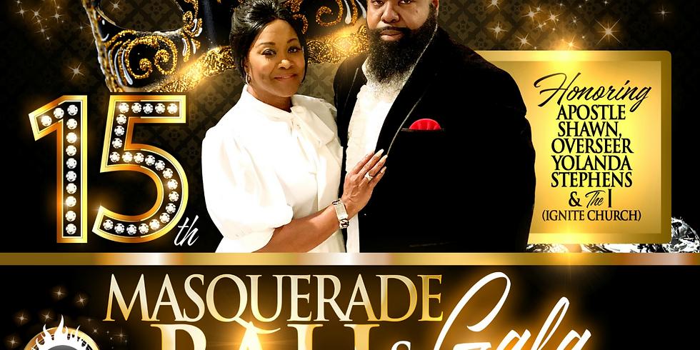 15th Founders Masquerade Gala & Ball 2018