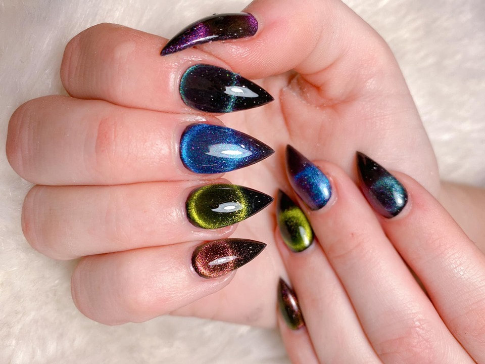 Dipping Nails with Tips