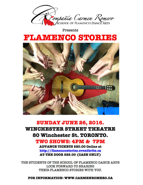 Flamenco Stories.... here is mine...