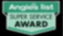 Oklahom Foundation Solutions' Super Service Award for Foundation Repair from Angie's List