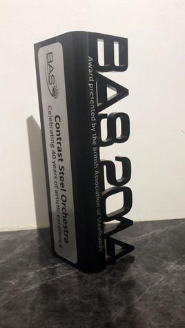 British Association of Steelbands award - 2014