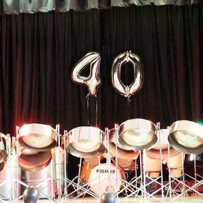 40th anniversary decor