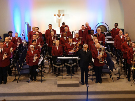 Pilgrim Songs: the Chicago Staff Band goes west