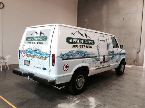 Van Wrap (finished)