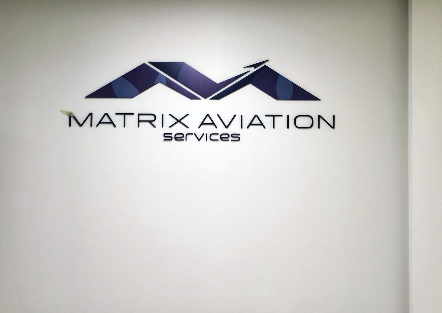 Interior Wall Logo