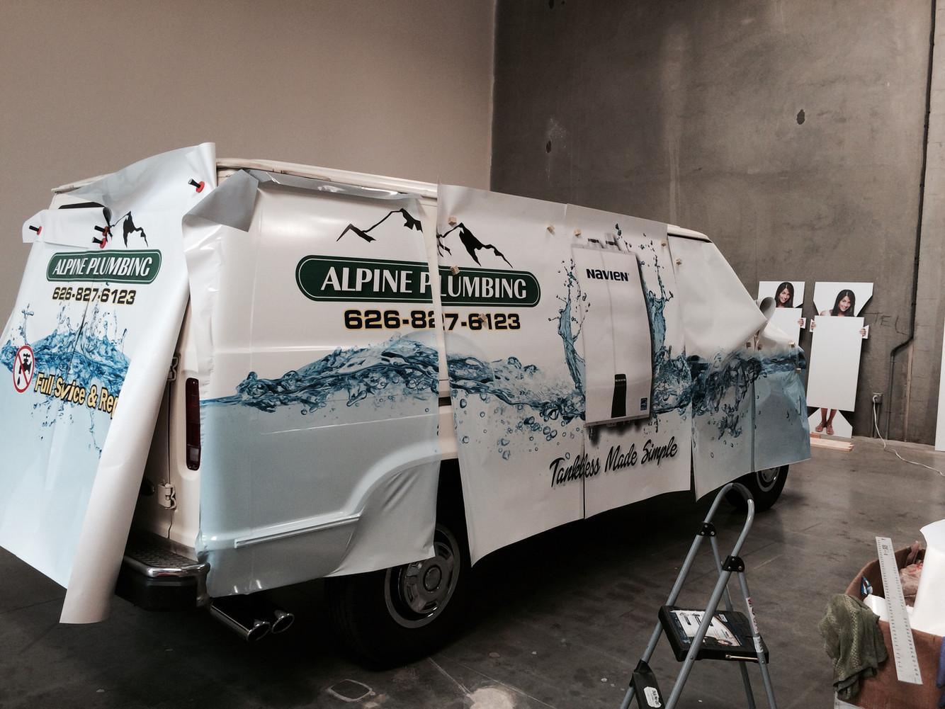 Van Wrap (in progress)