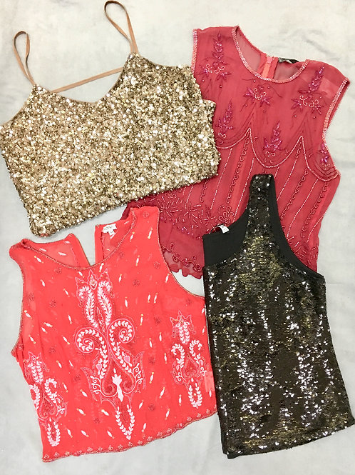 Festive Holiday cocktail dresses, separates, shoes, & more