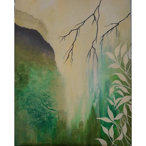 Rebirth - Mixed Media on Canvas