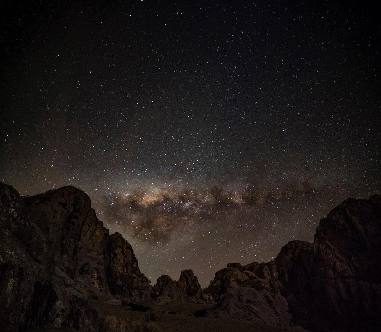 Cielo Nocturno en el Valle de Anjo. Vall