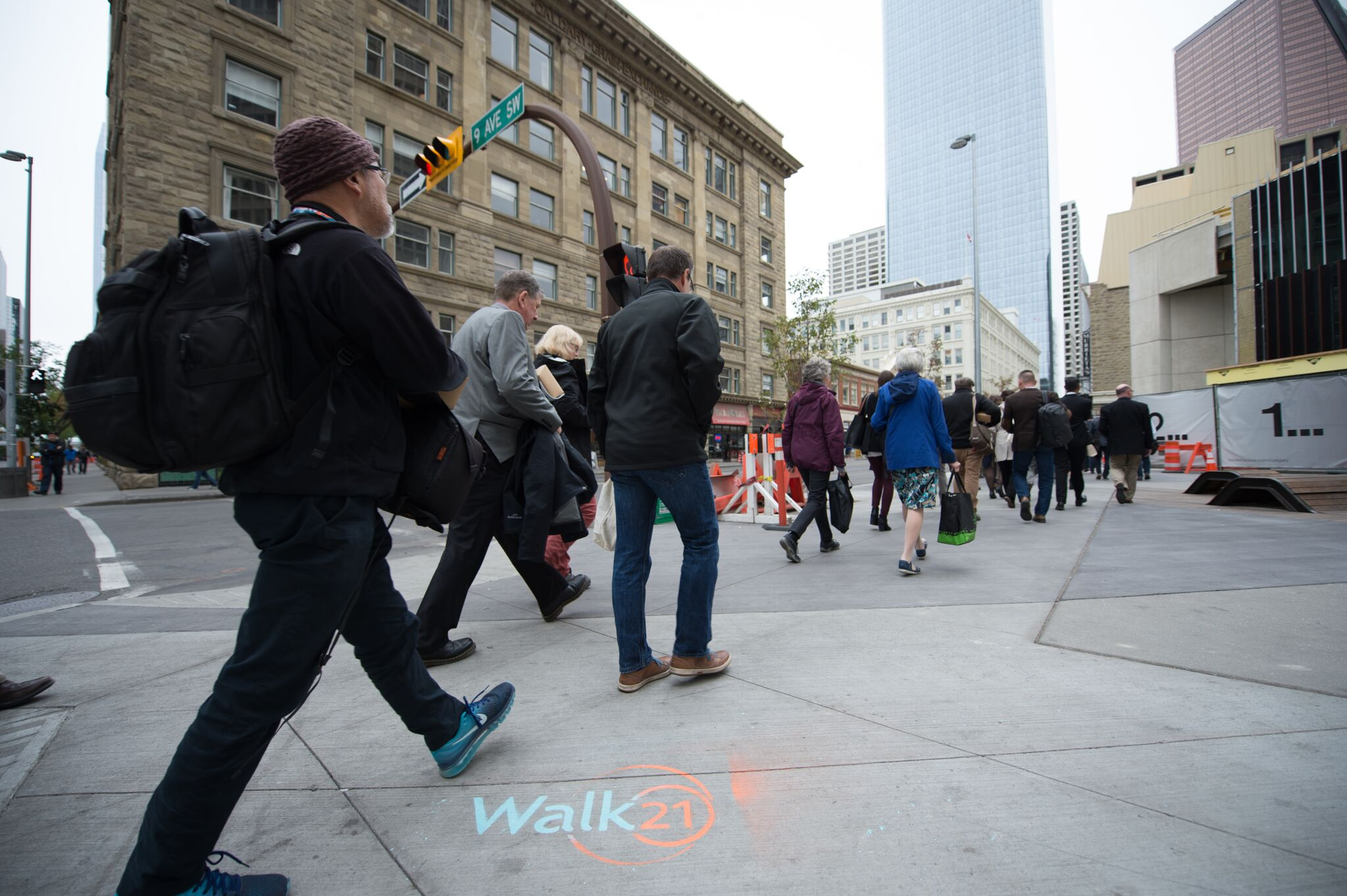 Walk21 Calgary, 2017