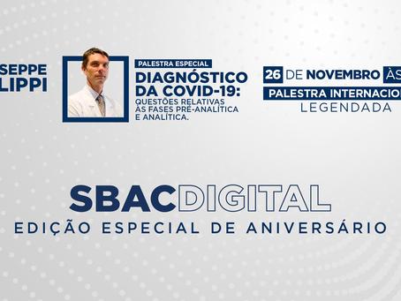 SBAC Digital: Confira os Bastidores do Programa Especial e os Principais Estudos de Giuseppe Lippi