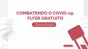 [Download] Flyer Combatendo o COVID-19