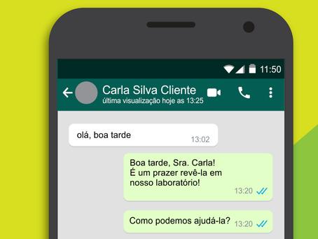 Vantagens e Desvantagens do Whatsapp no Laboratório