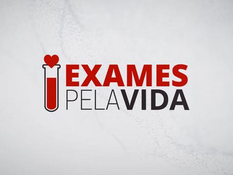 [DISPONÍVEL] Vídeo #3 – Campanha Exames pela Vida: Lugar de Exame é no Laboratório