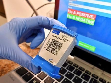 Teste de Influenza pode ser usado para triagem em casos de suspeitas por COVID-19