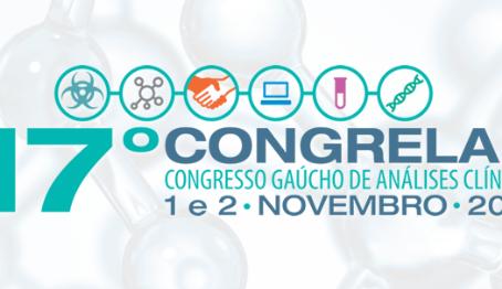 17º Congresso Gaúcho de Análises Clínicas: nos encontramos lá!