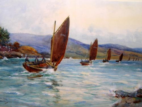 """""""Tarbert, Loch Fyne"""""""